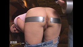 Duct Tape Anal Creampie...