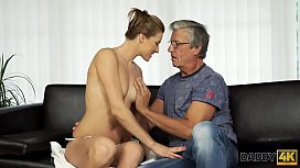 DADDY4K. Young slut always wanted to have fun with middle-aged man