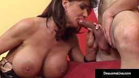 Big Busted Cougar Deauxma...