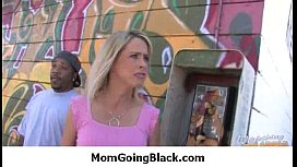 Hot Milf Mommy sucks and fucks a monster black cock 23