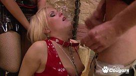 Andreya Diamond Has Her Poor Little Pussy Drilled By A Medieval Sex Machine