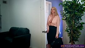 Sexy female boss with...