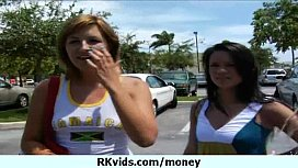 Money does talk for a nasty whore 9
