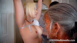 Taboo family threesome - frozen...