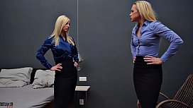 From the Office to the Bedroom - Sexy Catfight Domination