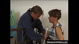 Hot MILF who still has a firm body gets fucked by an artist
