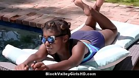 Lazy Black Valley Teen...