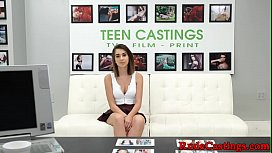 Casting teen blasted with...
