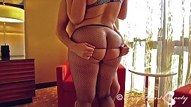Julie Cash Fishnets...