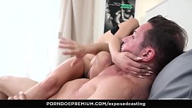 EXPOSED CASTING – Serbian beauty squirts and eats cum xxx video