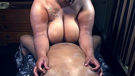 BBW GODDESS MASSAGE & TITTY FUCK
