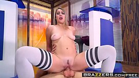 Brazzers - Teens Like It Big - Two Can Play That Game scene starring Kimber Lee and Sean Lawless