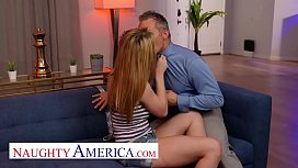 Naughty America - Nikole Nash always wanted to fuck her friend'_s DAD