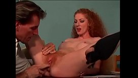 Breathless redhead waiting for a big cock legs wide open