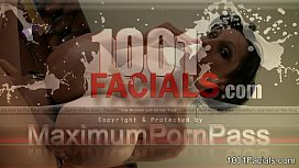 1001Facials - PenelopeBlackDiamond - sperm in...