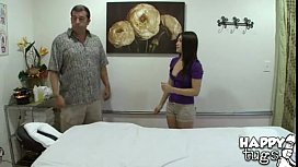 420 Cute Little Asian Mika Kim Gives Old Man Happy Ending