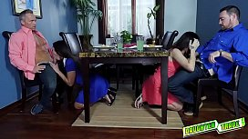 Teens pussy feeding their mature dads to sghow them they care!