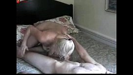 Hungry Mature Blonde Cougar...