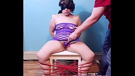 BLINDFOLDED, TIED UP to...
