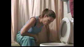 Sick Whore Puking Vomiting...