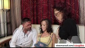 Erotic threesome with super...