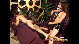 Bossy mistress punishes her...