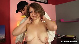 Czech teen with big...