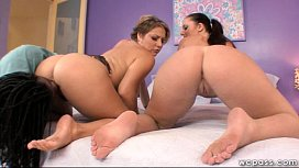 Double White Booty Anal...