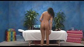Playgirl with a perfect ass fucked by massage therapist