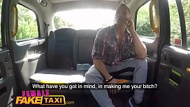 Female Fake Taxi Big...
