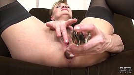 Granny anal fucked in...