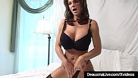 Busty Cougar Deauxma Squirts...