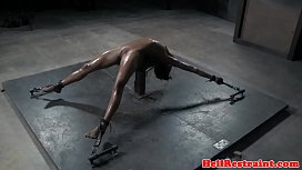 NT tormented ebony submissive...
