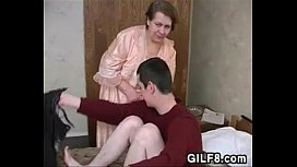 Thick And Naughty Granny Wants This Young Guy