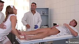 Blowjob Nurse Sofi Goldfinger...