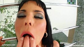 Facial group cumshots for...