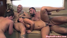 Collared sub cumswallows during...