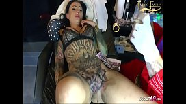 Rare Live Pussy Tattoo And Blowjob For German Teen Snowwhite