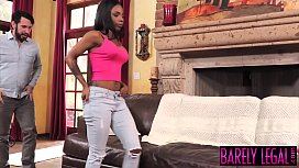 Ebony babe Sarah Banks...
