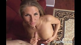 Hot blonde wants a big white dick