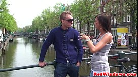 Real amsterdam prostitute nailed...