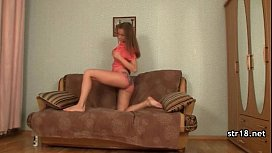 Playful teen introduced to hard nasty sex