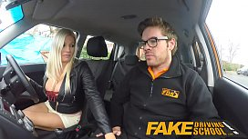 Fake Driving School squirting...
