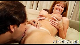 Mommy receives pounded shitless...