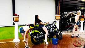 Bike Wash - Tre gnocche...