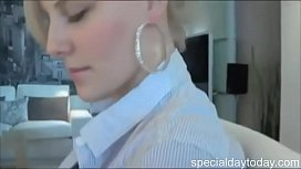 Shy German teen in...