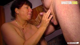 AMATEUR EURO - German Naughty Wife Experience Sex On Cam With Her Husband