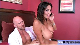 Sexy Big Tits Mommy (Tara Holiday) Enjoying Hard Style Sex Action vid-26