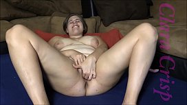 Chubby Brunette Fingering, Using...