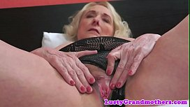Busty mature pussyfucked by y. cock